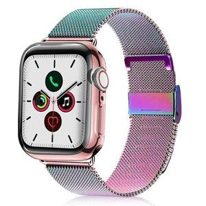 NEW Colorful Stainless Band For Apple Watch